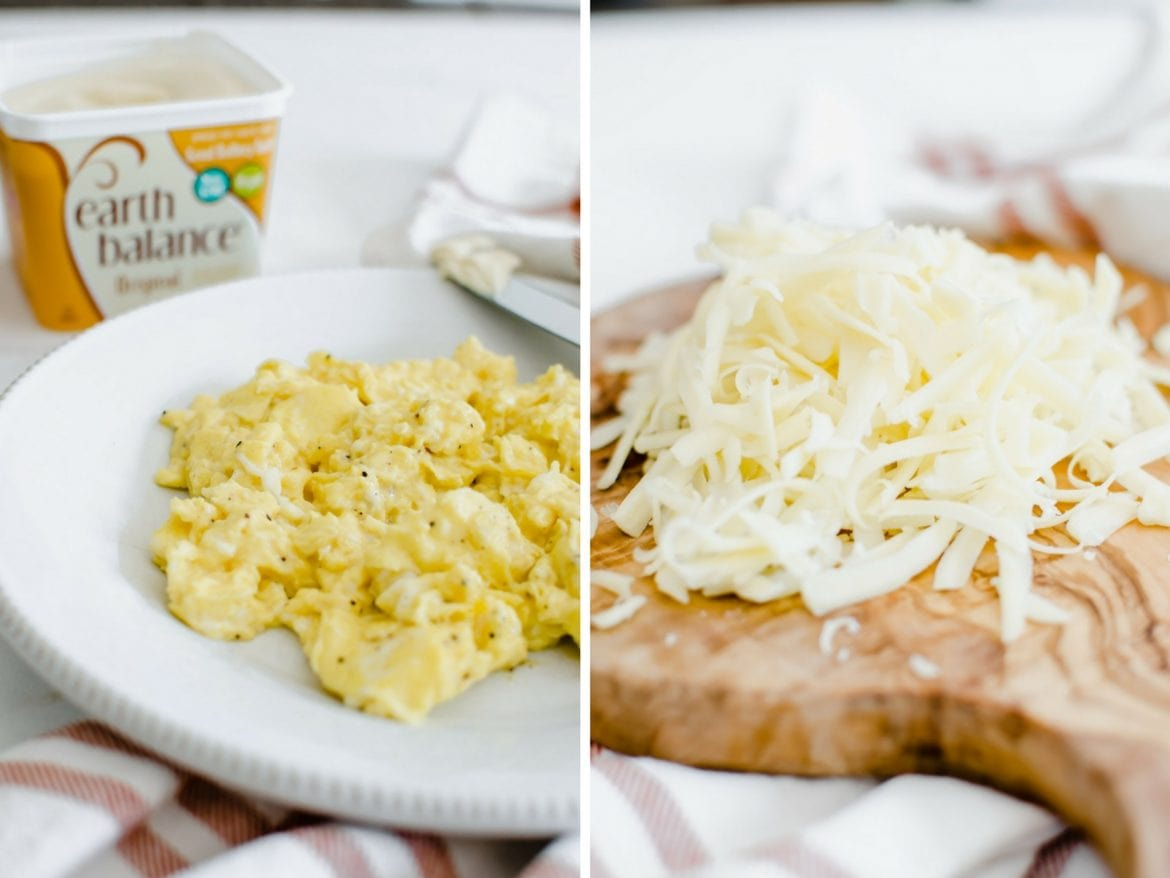 This recipe for Meal Prep Breakfast Burritos is a great make-ahead option for breakfast. They are packed with plant-based protein and full of Southwest flavor!