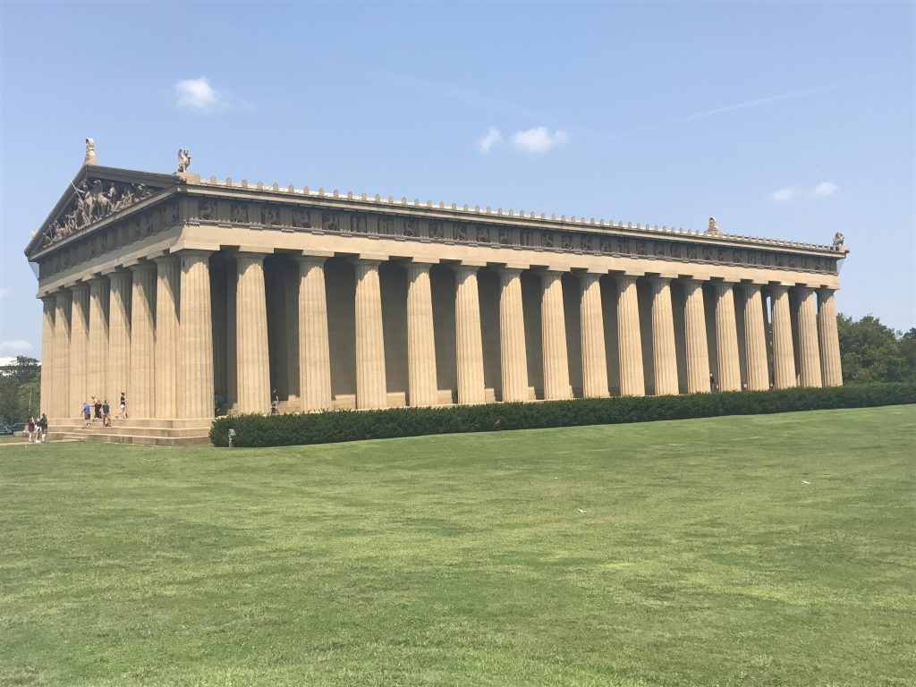 Centennial park Parthenon in Nashville, TN