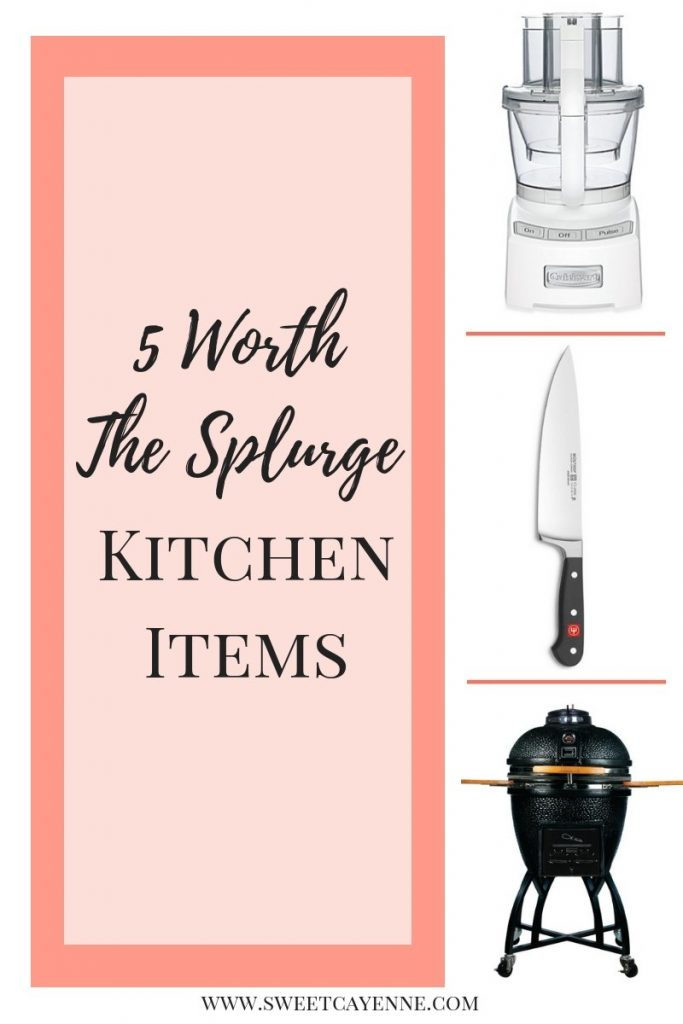 A collage of kitchen tools with text overlay for Pinterest.