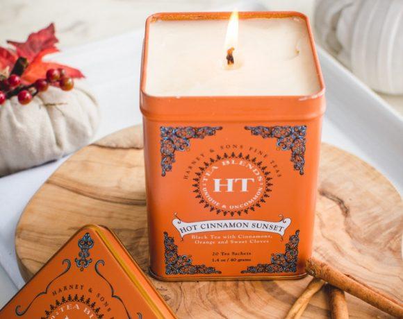 DIY Homemade Tea Tin Candle