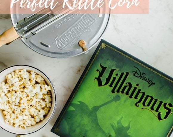 Game Night Essentials + Perfect Kettle Corn Recipe