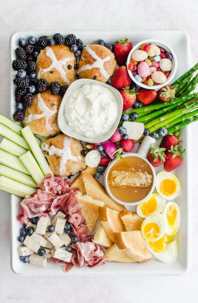 Easter Brunch Grazing Board Sweet Cayenne