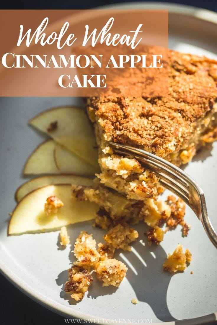 Pinterest hero cinnamon apple cake.