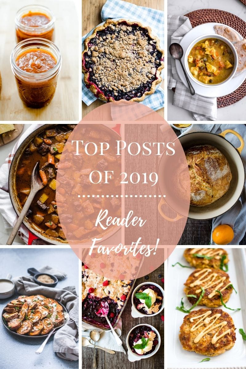 A Pinterest collage of the top posts of 2019